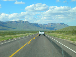 Photo: Highway 54 north of Van Horn has some of the best mountain views in Texas.