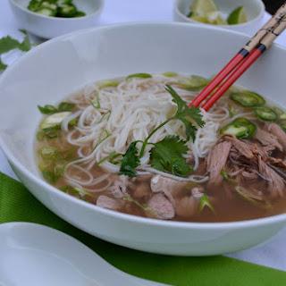 Slow Cooker Vietnamese Beef Pho