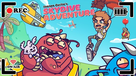 SkyDive Adventure by Juanpa Zurita Mod Apk (Unlimited Money) 5