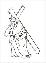 Photo: Jesús con la cruz