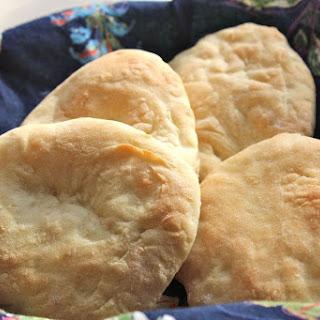 Israeli Pita Bread (Parve).
