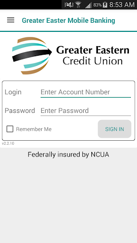 android Greater Eastern Mobile Banking Screenshot 0