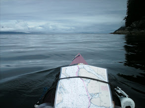 Photo: Heading north up Stephens Passage.