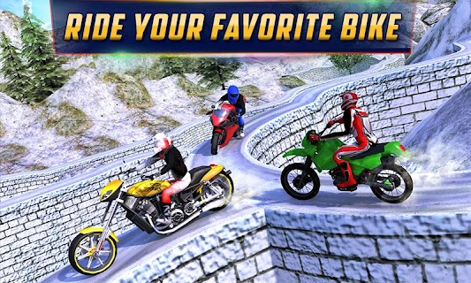 Crazy Offroad Hill Biker 3D screenshot 02