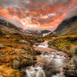 Red October.. by John Aavitsland - Landscapes Sunsets & Sunrises
