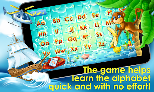 ABC Alphabet! ABCD games! Learn letters apkpoly screenshots 5