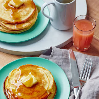 5-Ingredient Cream Cheese Pancakes.
