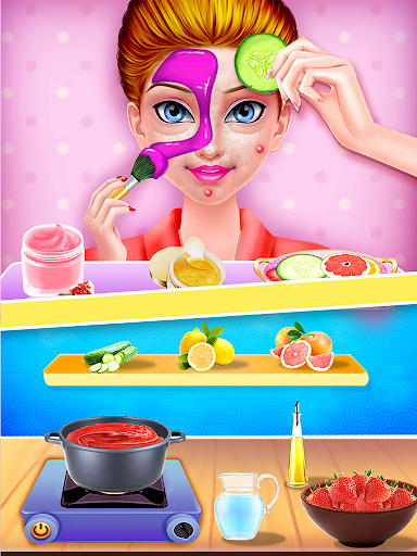princess makeup salon - girl games screenshot 3