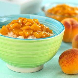 Peach Compote.