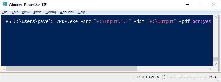 New command line PDF converter – 2PDF