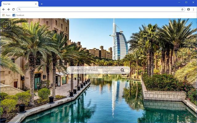Cool Dubai HD Travel Destination Theme