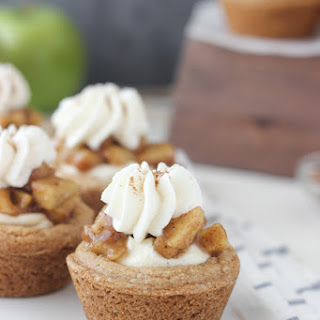 Apple Pie Cream Pie Cookie Cups