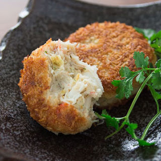 Green Curry Crab Cakes.