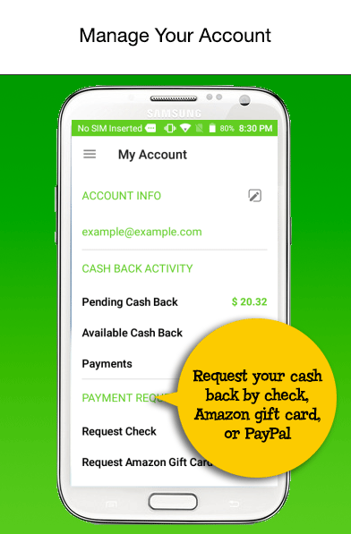 Mr. Rebates: Cash Back Savings- screenshot