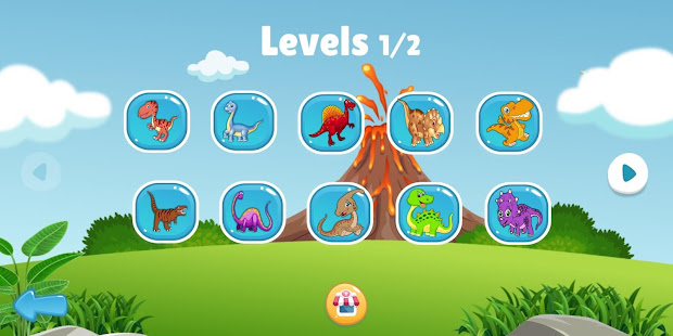 Download Dinosaur Puzzle : Jigsaw kids Free Puzzles game For PC Windows and Mac apk screenshot 2