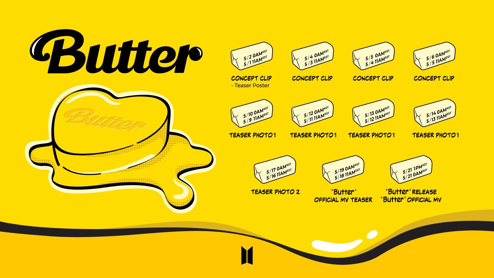 butter schedule