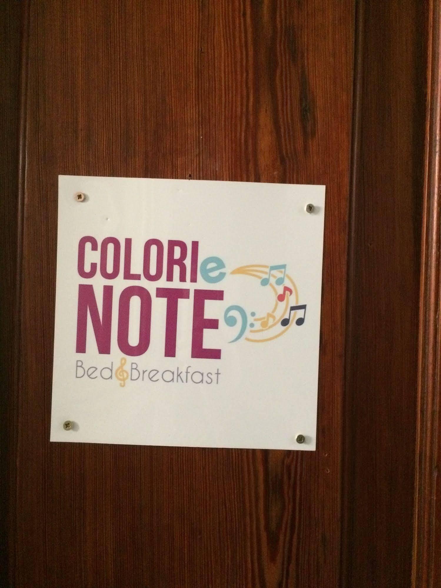 B and B Colori e Note