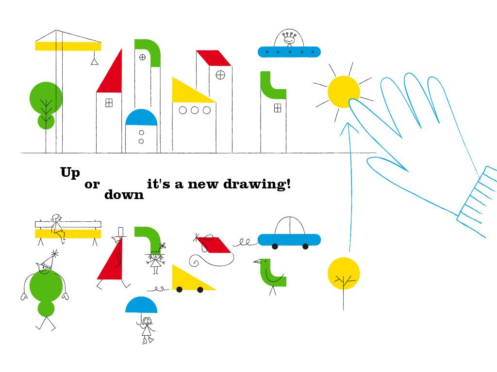 Oh! The magic drawing app- screenshot