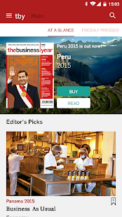 The Business Year- screenshot thumbnail