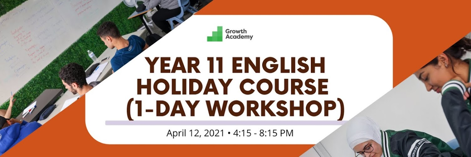 Year 11 English Holiday Course (1-day workshop)