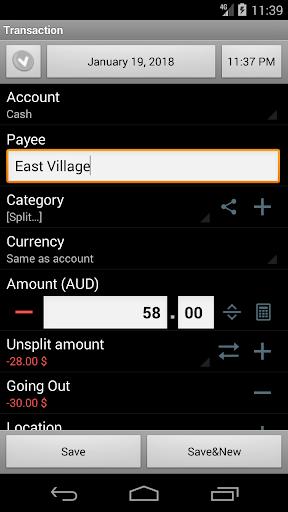 Financisto screenshot 4
