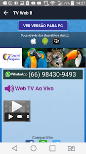Tv Web B- screenshot thumbnail