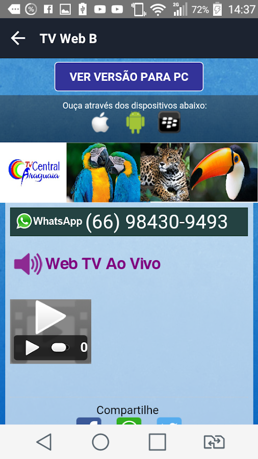 Tv Web B- screenshot