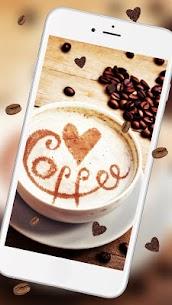Hot cozy coffee Live wallpaper 3
