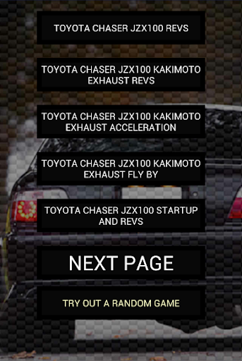 Engine sounds of Chaser JZX100