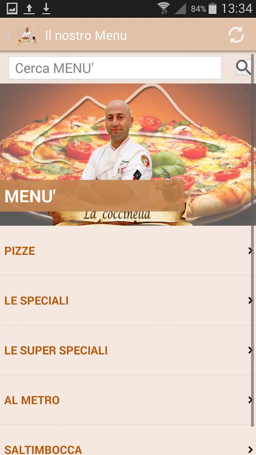 Pizzeria la coccinella android apps on google play for Pizzeria il tocco