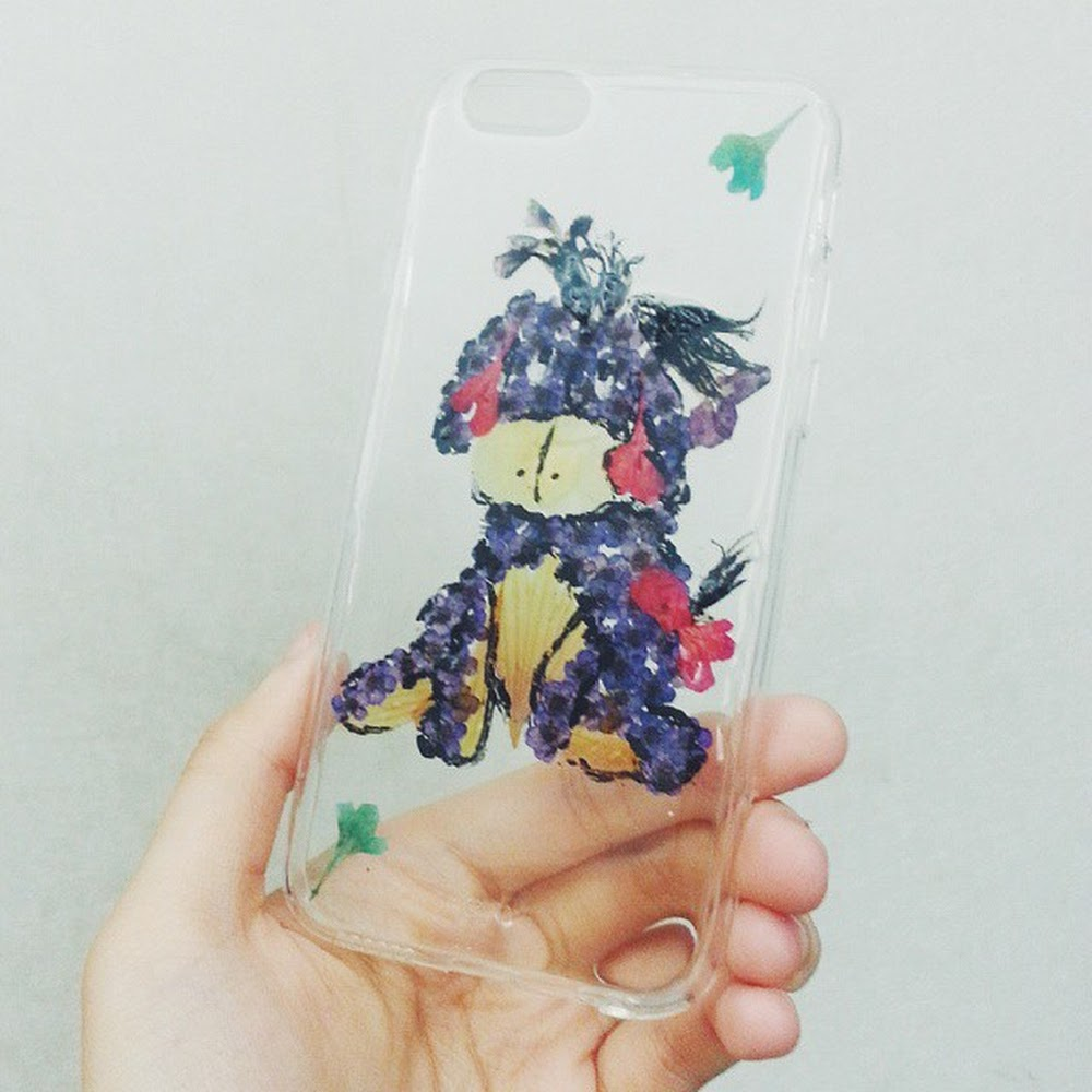 [訂製/custom-made] Eeyore - Pressed Flower