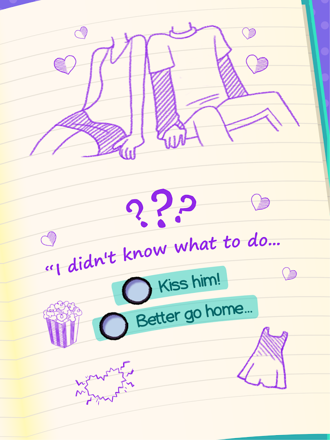 Screenshots of Dear Diary - Interactive Story for iPhone