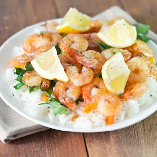 Shrimp Scampi With Basmati Rice