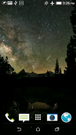 Starry Sky Video Wallpaper