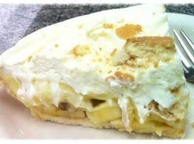 Banana And Coffee Pie