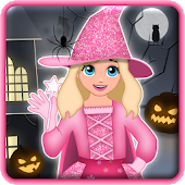 Halloween Girl Monster Dressup
