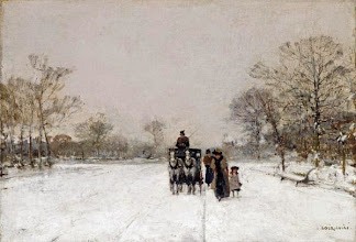 "Photo: Luigi Loir, ""Nella neve"""