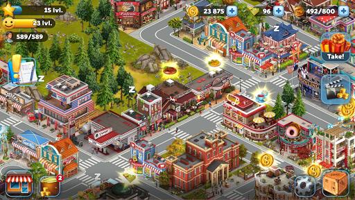Golden Valley City: Build Sim screenshot 14