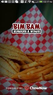 Download Bim Bam Burgers & Wings For PC Windows and Mac apk screenshot 1