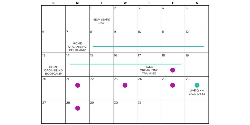 SpikedParenting's #MotherHustlers Club Schedule