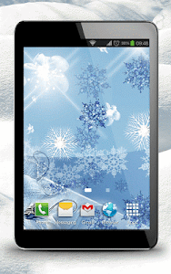 Snowflake Live Wallpaper screenshot 4