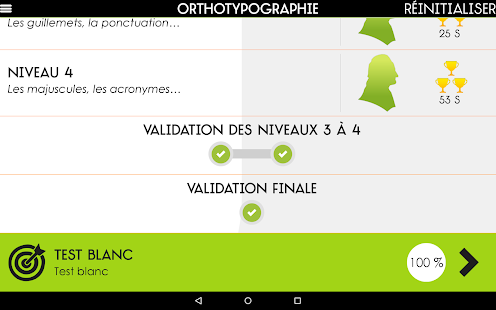 Orthographe Projet Voltaire- screenshot thumbnail