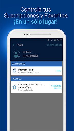 Tigo Shop: Consulta y compra Paquetigos prepago 2.0.3 screenshots 7