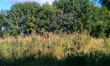 Photo: Joanna in the Faery Grove...