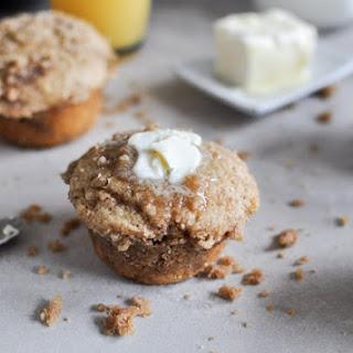 Whole Wheat Coffee Cake Muffins.