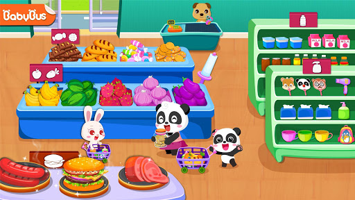 Baby Panda's Supermarket - screenshot