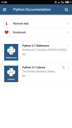 Python 3.7 Docs 1.1.0 Screenshots 1