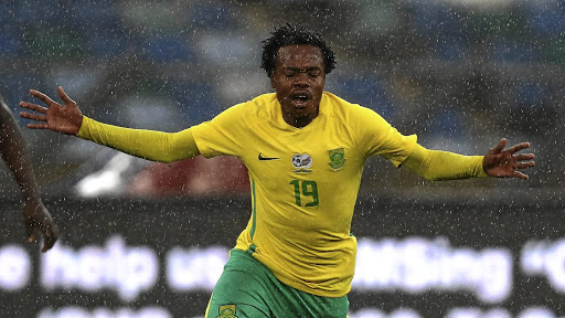 Relief as Percy Tau declared fit for Bafana against Mali