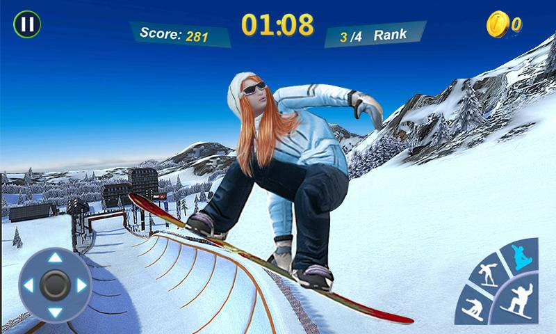 Screenshots of Snowboard Master 3D for iPhone