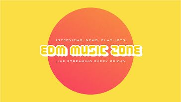 EDM Streaming - YouTube Channel Art template